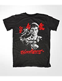 "Bloodsport T-Shirt, Jean Claude Van Damme, Karate, Judo, fight ""Schwarz"""