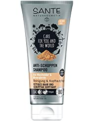 SANTE Naturkosmetik Anti-Schuppen Shampoo, Reduziert Schuppenbildung, Vegan, Ohne Silikone, Bio-Extrakte, 200ml