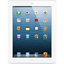 "Apple iPad 4 - Tablet de 9.7"" (WiFi, 16 GB, 1 GB RAM, iOS), blanco"