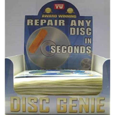 Disco Genie Kit de reparación de CD/DVD (40unidades)