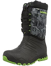 Merrell Snow Quest Waterproof, Zapatos de High Rise Senderismo para Niños