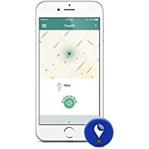 TrackR pixel - Bluetooth Tracking Device. Key Tracker. Phone Finder. Wallet Locator - Blue (3 Pack) …
