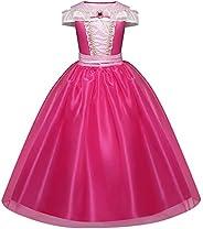 Disfraz de Bella para niñas, disfraces de princesa, para Halloween, para niñas de 4-9 años
