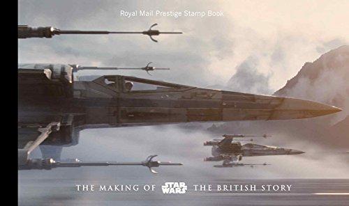 Star Wars THE MAKING OF STAR WARS THE BRITISH STORY PRESTIGE STAMP BOOK