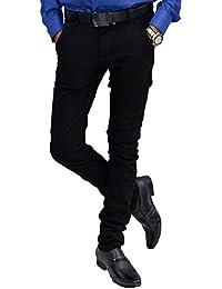 Etcetraz Mens Cotton Casual Slim Fit Trouser - B0757F72J1