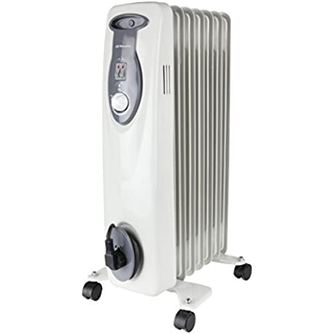 Orbegozo RA 1500 D - Radiador de aceite, 7 elementos, 1500 W