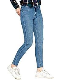 R30 CELEBMODELOOK New Women Ladies Plus Size X-Zara Smart Jeans Stretch Trousers Skinny Denim Spandex Pants.