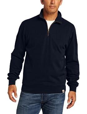 Carhartt .100007.412.s008maglione Knit Quarter zip, colore: navy, taglia: XXL