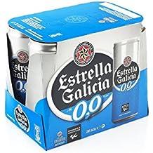 Estrella Galicia Cerveza sin Alcohol - Paquete de 6 x 330 ml - Total: 1980