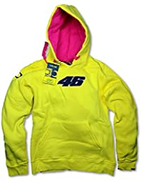 MotoGP Valentino Rossi - sudadera con capucha para mujer, color amarillo, mujer, amarillo, large