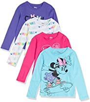 Spotted Zebra Disney Star Wars Marvel Princesa de Frozen de Manga Larga Camisetas Fashion-t-Shirts Niñas