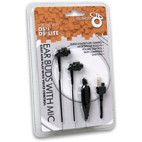 DSi/ DS Lite Ear Buds with Mic [Edizione: Germania] - Nintendo Ear Buds