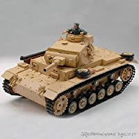 Airsoft 1/16 TauchPanzer III Smoking RTR RC Battle Tank W/ Sound-3849-1 - Compare prices on radiocontrollers.eu