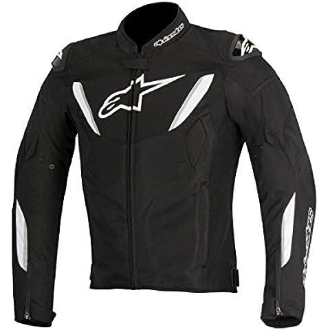 Alpinestars t-gp R Air Hombre Street–Chaquetas de Moto Color Negro/Blanco