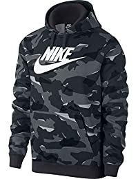 official photos 836ca 7ee7e Nike M NSW Club Camo Hoodie Po Bbgx Sweat-Shirt Homme