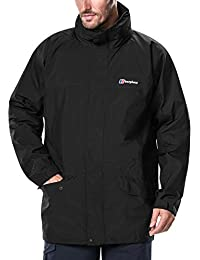 Berghaus Men's Iii Gore Tex Walking Shell Cornice Jacket-Black, Small