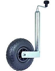 CARPOINT Rueda de engranaje de nariz 48mm con neumático del aire 260x85mm