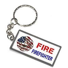 Fire Fighter–Feuerwehr–New Schlüsselanhänger Ring