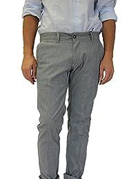 Pantalone Uomo Slim Cotone jea Stretch Fashion Moda Blu Prezzo Super Made  Italy 12cc47fe611d