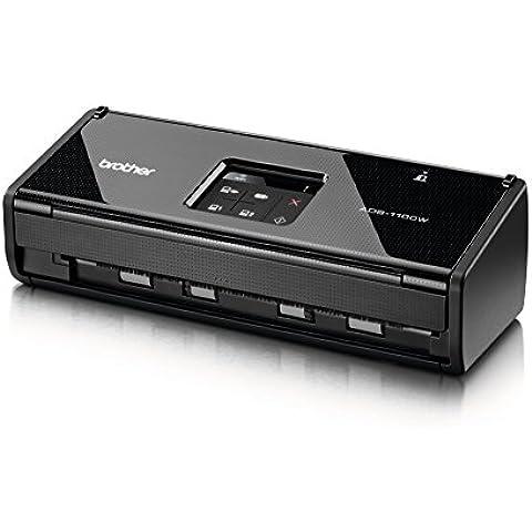 Brother ADS-1100W Scanner Desktop Professionale con Fronte/Retro,