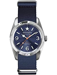 Oxygen Paris Watches Unisex Boston 38 Blue Watch