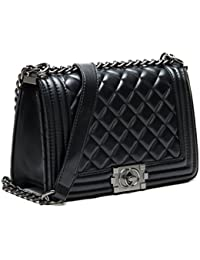 752c2719c5 S Lady Design Fashion Women Career OL handbag plaid chain bag shoulder bag  fashion street Bags