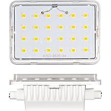 LINEAL 9W R7S 78MM 220V 120º LED - Blanco cálido, R7S, 9W, 78MM.