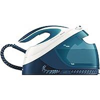 Philips GC8723/20 - Centro de planchado, autonomía ilimitada, OptimalTemp, 6,2 bares, vapor continuo de 120 g/min, 1,8 l, color azul