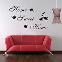 Click Down DIY Sweet Home Quote Wall Paper Art Vinyl Decal Sticker by Click Down by Click Down