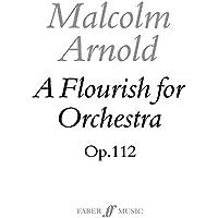Flourish for Orchestra (1973): (Score)
