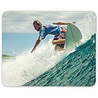 Surf Surfer – Alfombrilla de ratón Cool regalo hermano hijo ordenador ...