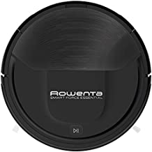 Rowenta RR6925 WH aspiradora robotizada Negro 0,25 L - Aspiradoras robotizadas (Negro, Alrededor, 0,25 L, 65 dB, Edge, Azar, Random room, Suelo duro) (Reacondicionado)