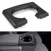 وسادة استبدال جوي توتوس المركزية حامل كأس أسود متوافق مع فورد F-150 2004-2014، مقعد مقعد مقعد F150 قطع غيار وحدة التحكم المركزية لملحقات فورد F150 (أسود)