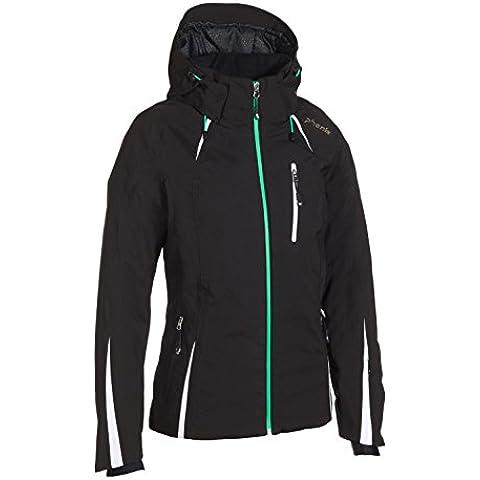 Phenix Orca Jacket–Chaqueta de esquí para mujer, invierno, mujer, color negro, tamaño L