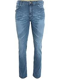 MUSTANG Oregon Tapered Hose Herren Jeans Denim Blau 3112 5776 077