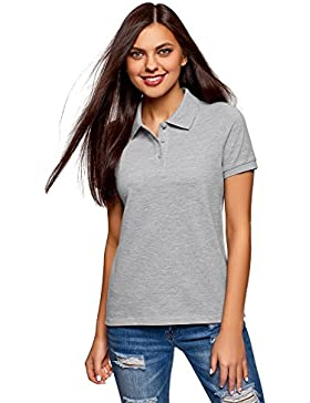 oodji Ultra Donna Polo Basic i