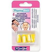 Pharmadoct - Tapones para los oídos (12 unidades, 4 unidades)