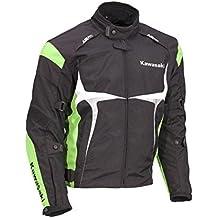 Kawasaki Sports textil Chaqueta verde. Moto Chaqueta. NUEVO. Talla XXXL Negro Verde Blanco