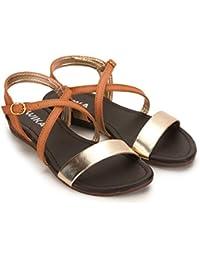 f2f9889d621 Brown Girls  Fashion Sandals  Buy Brown Girls  Fashion Sandals ...