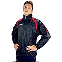 5b5f1a83afebe7 LEGEA Atletica K-Way Vento Completo Completino Uomo Blu-Rosso TORNEO Sport  (XXXXL