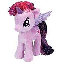Ty UK Ltd Peluche TWILIGHT SPARKLE 18cm da MY LITTLE PONY Mio Mini Pony UFFICIALE Ty