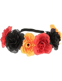 Diadema– flores – 11 colores - Diadema para el pelo, corona de flores, accesorios para el…