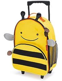 Skip Hop 212.305 niños bolso de la carretilla viaje, equipaje Zoo Bee