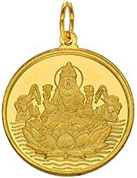 Sri Jagdamba Pearls22kt 2 GramLakshmi Gold Coin cum Pendant