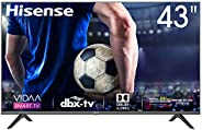 Hisense 43 inch 43A6000F FHD SMART LED TV