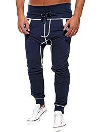 Covermason Homme Pantalons De Sport Confortable Pantalons De Jogging  Pantalons De Yoga Legging Sport Leggings De 6cff7617673