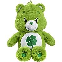 Care Bears with DVD Good Luck Bear Plush (Medium)