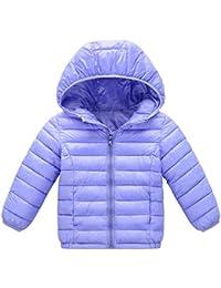 JiaMeng Chaqueta de algodón Abrigo con Capucha otoño Invierno cálido niños Ropa Chaqueta Gruesa Subsistencia Caliente