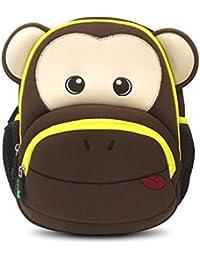 Niños mochilas NOHOO, jardín de infancia Enviromental niños mochila 3d Cartoon Cute Animal Mochilas escolares senderismo viaje para Sidekick