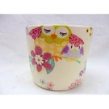 """Diseño de búhos """"diseño de búhos pequeños azucarero"""